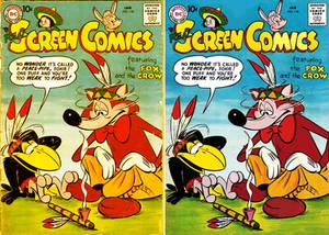 Fox Crow Comic Book Color Corrected