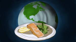 Global Food Painted