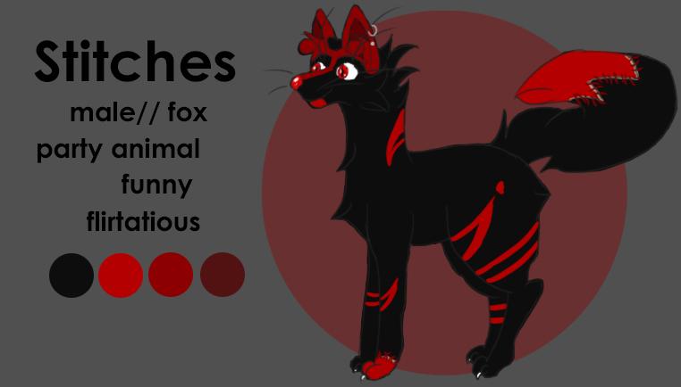 Stitches Ref by pony701