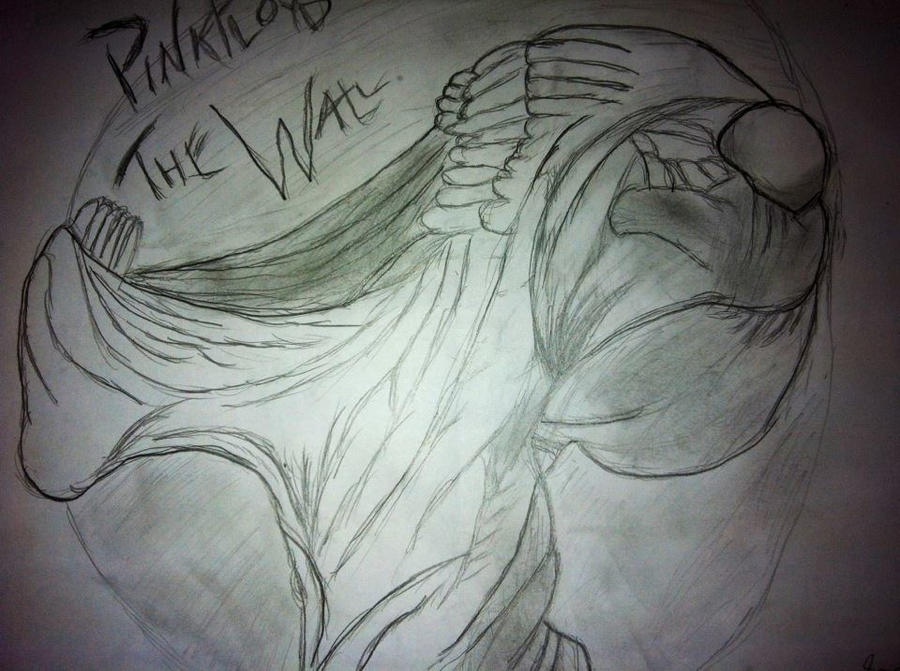 Pink Floyd The Wall Screaming Face By Metalmusicart