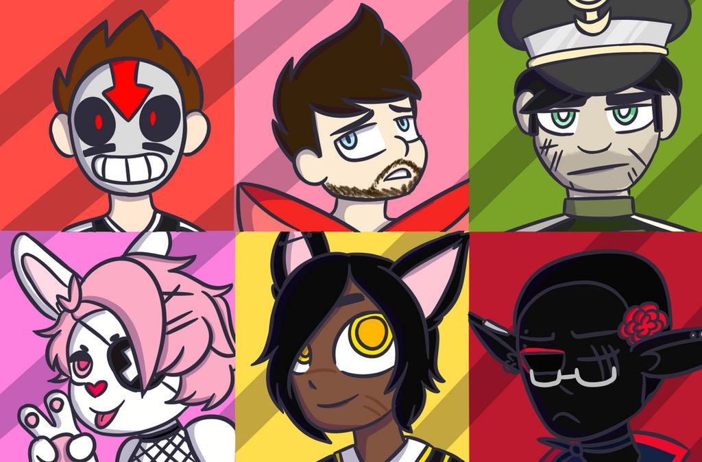 Icon Commission Batch 1 by ToonTay