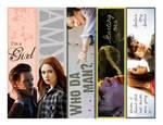 Eleventh Doctor Bookmarks