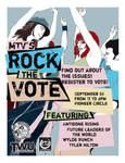 Rock the Vote Flyer