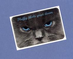 Fluffy Plots Sticker by WildeGeeks