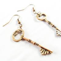 221B Baker Street Earrings by WildeGeeks
