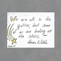 Looking at the Stars Art Card by WildeGeeks