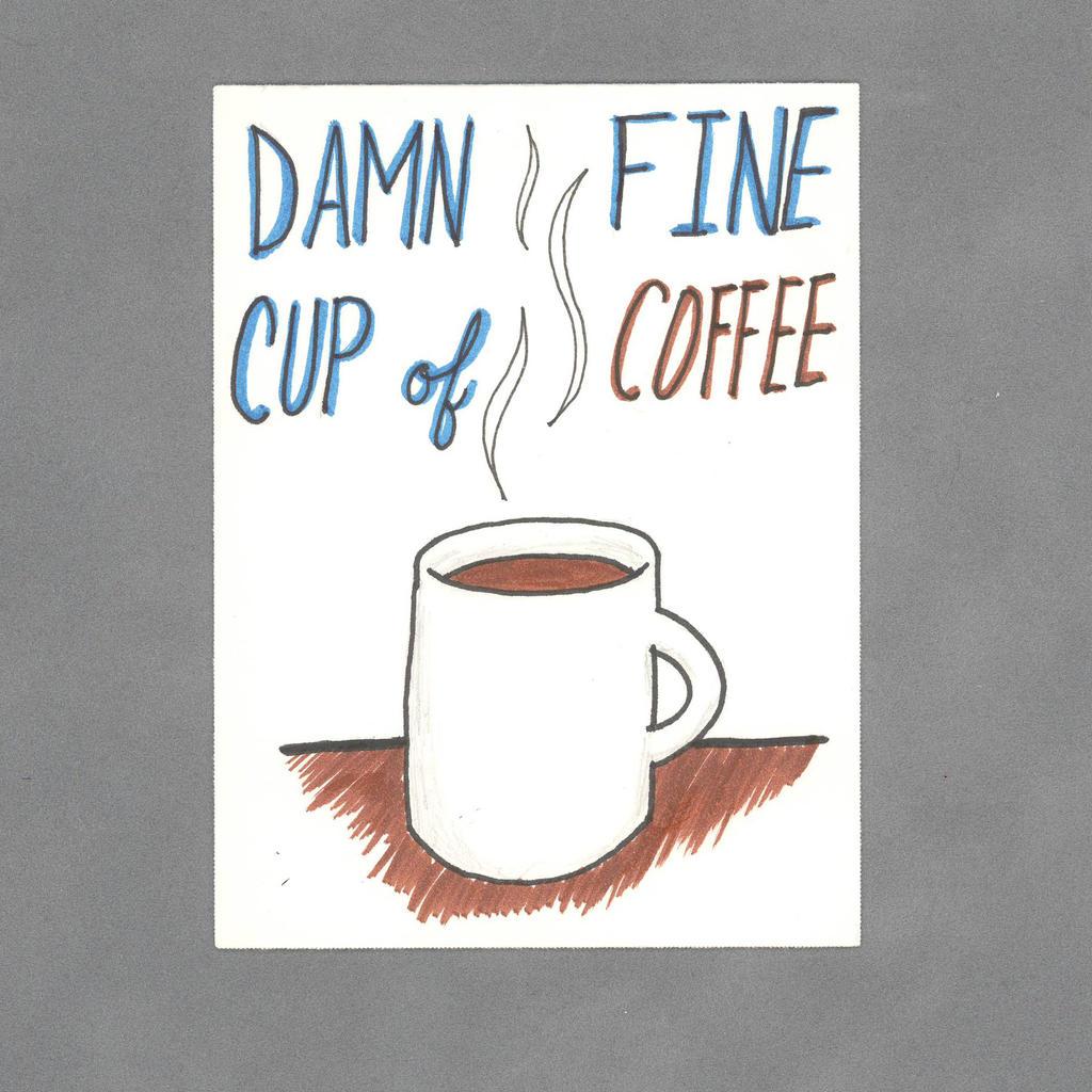 Damn Fine Coffee Art Card by WildeMoon