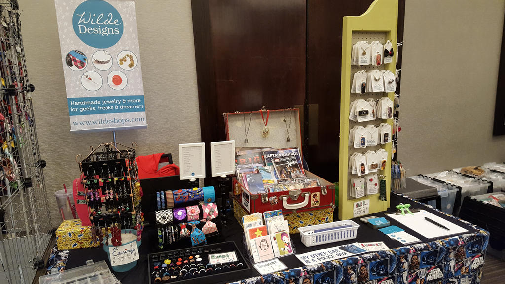 Wilde Designs at Anime North Texas 2016 by WildeMoon