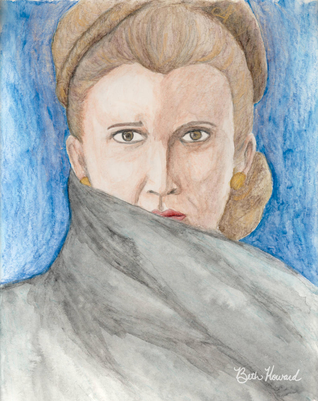 General Leia Organa by WildeGeeks
