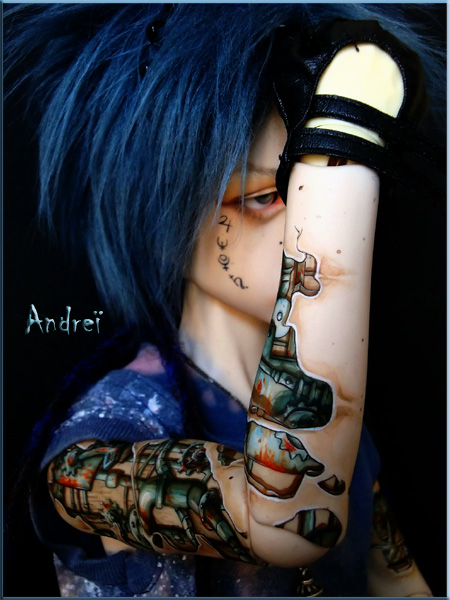 Mechanical tattoo I by Follow-the-Wind