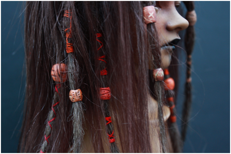 Wig for Fa'auea II by Follow-the-Wind