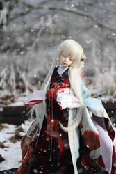 Snow is falling by Follow-the-Wind