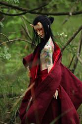 Tattoed Oni by Follow-the-Wind