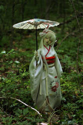Oiwa in the forest by Follow-the-Wind
