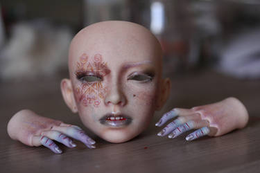 Elfdoll Sian faceup by Follow-the-Wind