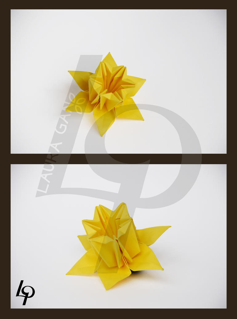 Origami Zelda Link By Wakeangel2001 On Deviantart So Fab Instructions Daffodil Elizelda