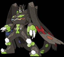 Zygarde Perfect Form official artwork