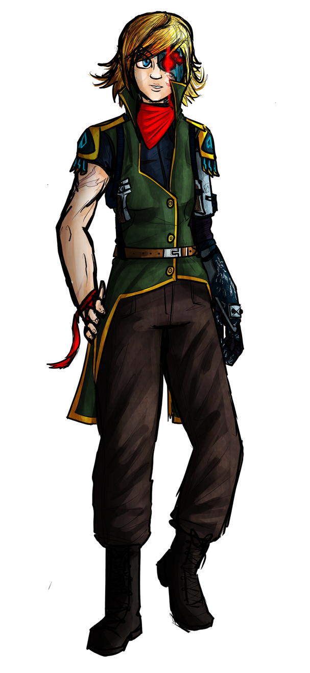 Shadowrun: Terri Jones by AkariMMS