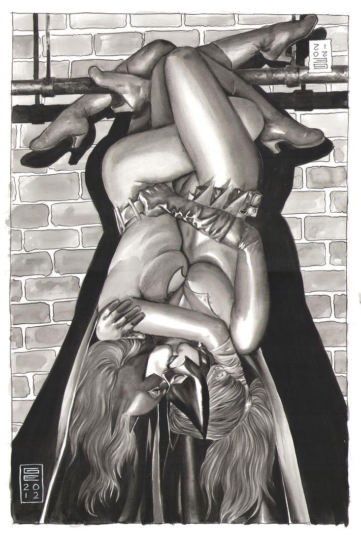 Baton and batwoman cartoon sex nude vids