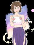 Modern day Yuna (FF10)