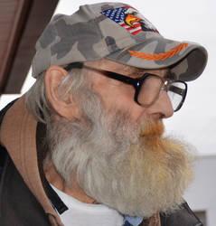 My Friend Mustard Mustache in Profile 1-10-17