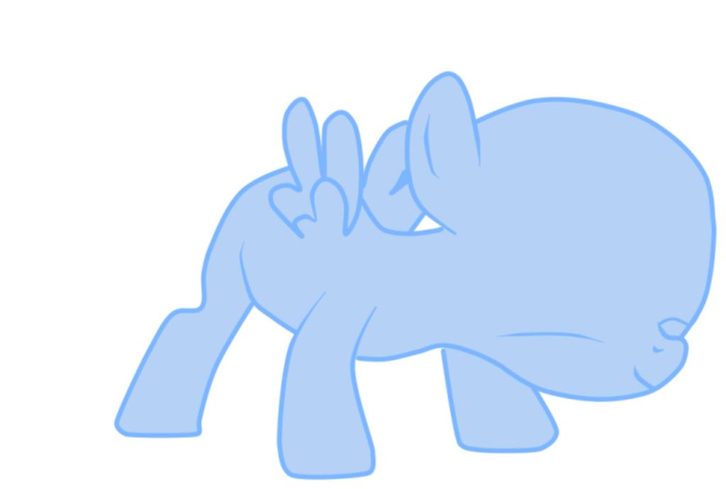 My little pony base filly