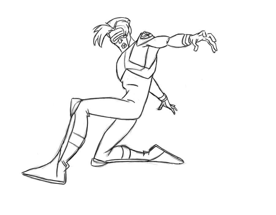X Men Cyclops Drawings Cyclops x-men   900 x 700