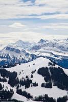 Snowy Blue Mountains by CaptainNuss