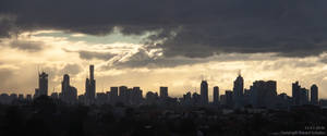 Sunset Over Melbourne, the Second by CaptainNuss