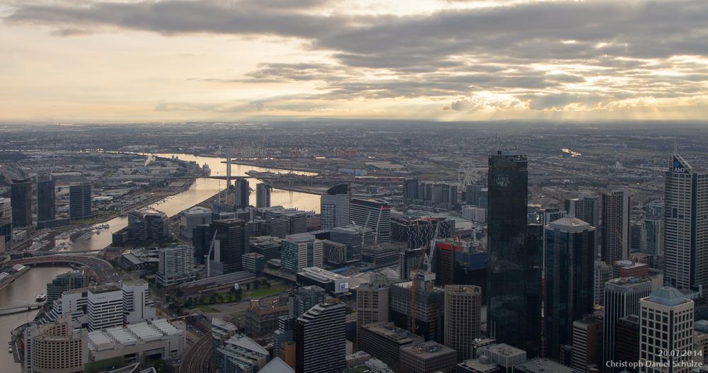 Melbourne by CaptainNuss