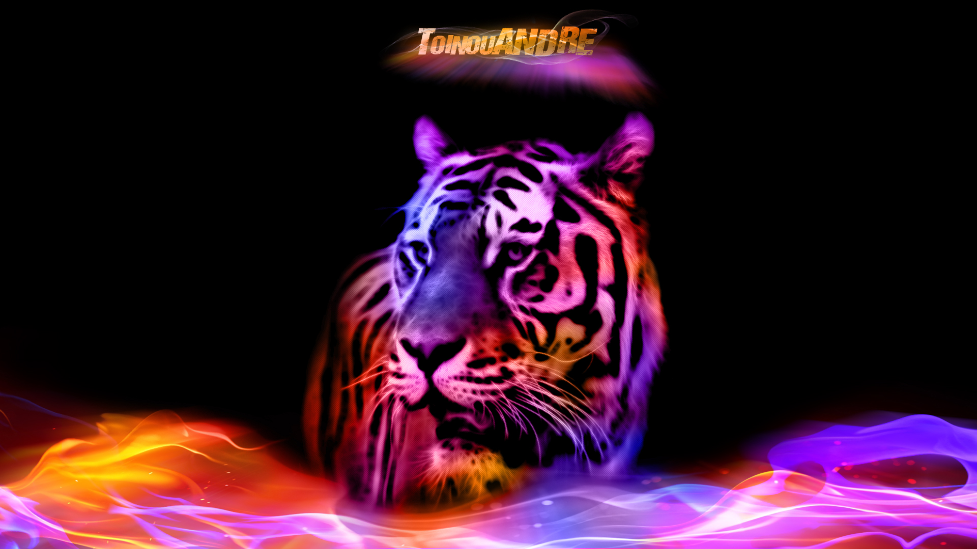 Tiger Color by toinouANDRE on DeviantArt