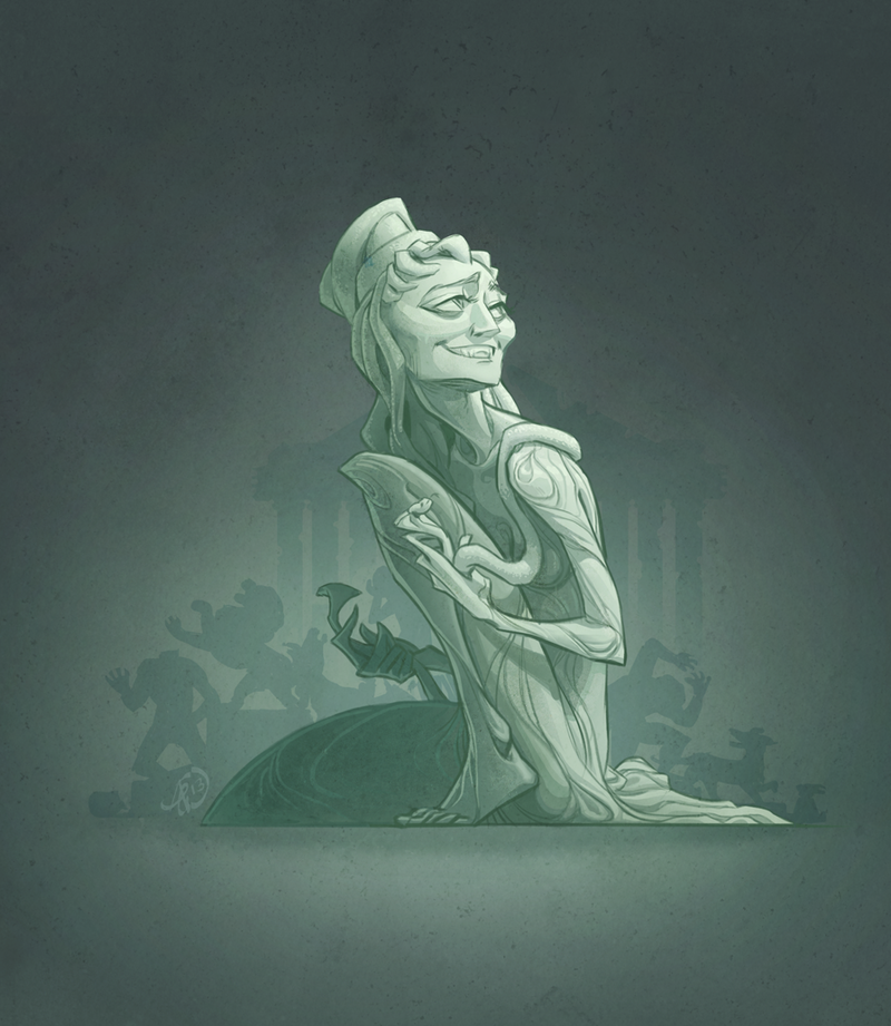Medusa by ghostcharmer
