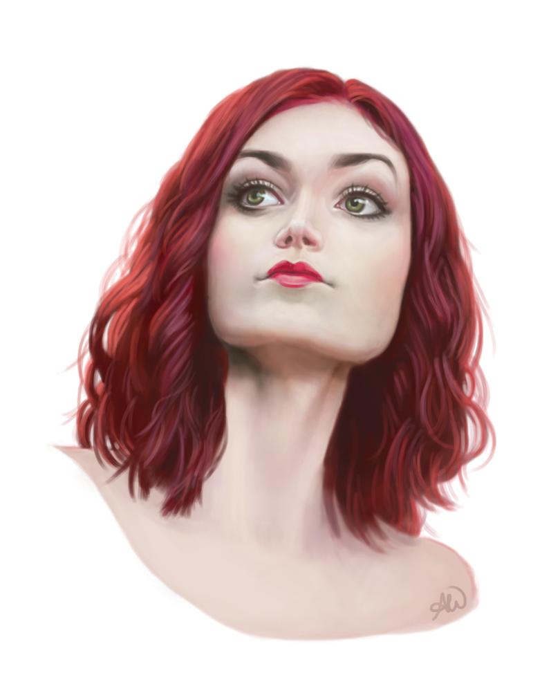 Model Sister Portrait by ghostcharmer