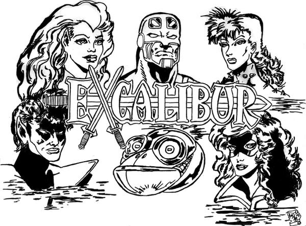 Excalibur Old School by KwongBee-Arts
