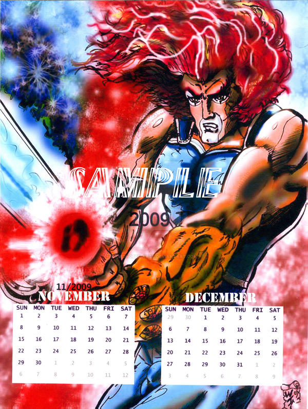 Wallpaper Calendar Superhero : Superhero calendar page by kwongbee arts on deviantart