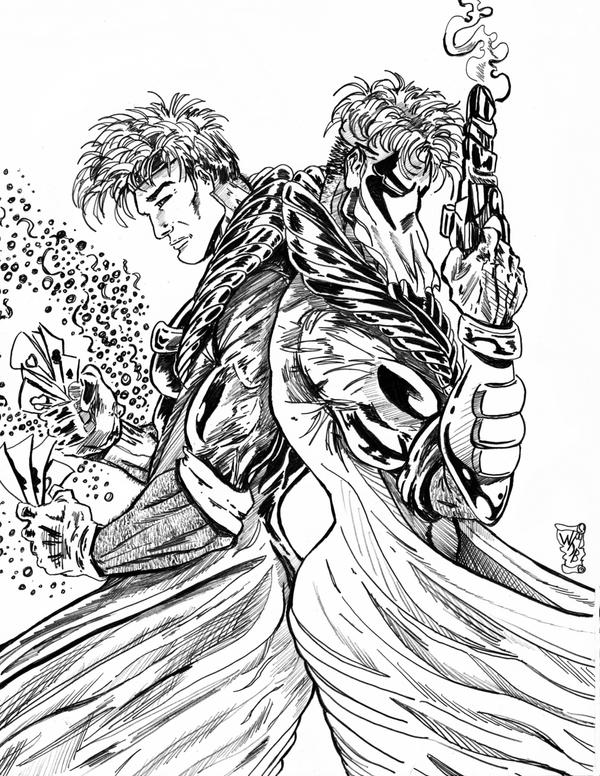 Grifter - Gambit: Back to Back by KwongBee-Arts