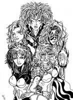 X-Babes of the 80's by KwongBee-Arts