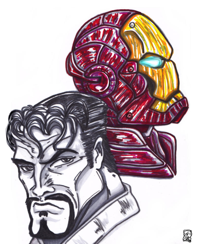 Tony stark is iron man by kwongbee arts on deviantart for Tony stark coloring pages