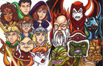 The Dungeons and Dragons Mural