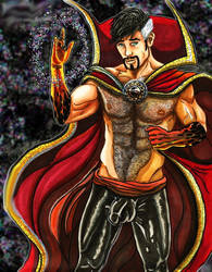 Erotic Avengers Doctor Strange by KwongBee-Arts