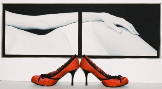 Red shoes by Castalia-lais