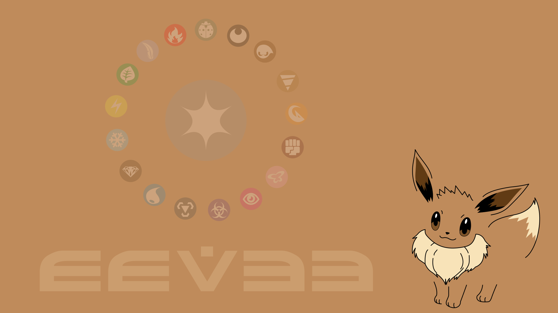 Eevee Wallpaper by juanfrbarros on DeviantArt