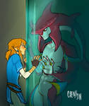 botw x the shape of water