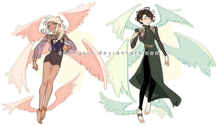 CLOSED! THANK YOUU | Seraphim Adopts by chenysin