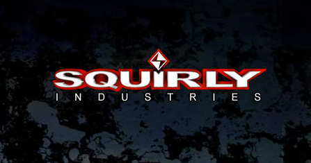 Squirly 3D Logo Treatment by GiDesign