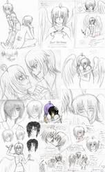 Kirika x Koujou Sketch Dump