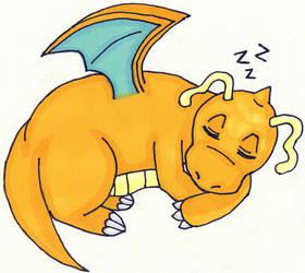 Sleepy Dragonite