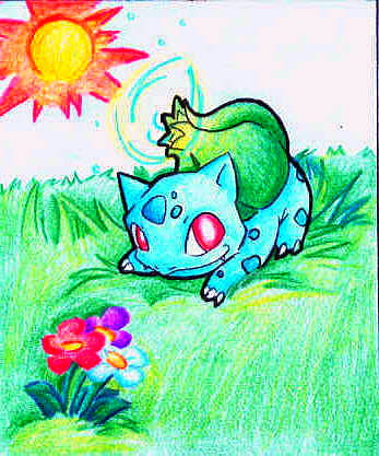 Bulbasaur by Cheese-is-tasty