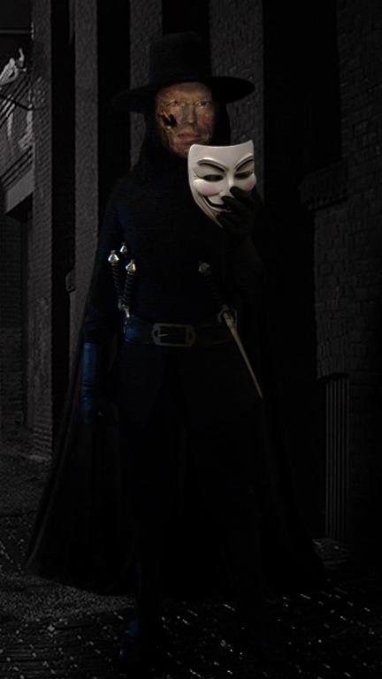 V For Vendetta Under The Mask By Andruril93 On Deviantart