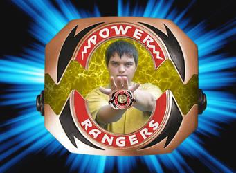 I morph into the Gold Ranger